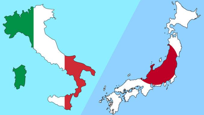 イタリアと日本