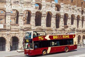 BIG BUS ローマ市内観光バス