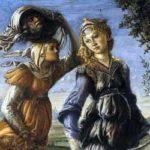 Botticelli: Il ritorno di Giuditta ボッティチェッリ作「ユディトの帰還」 1472年、第9室