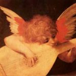 Rosso Fiorentino: Angelo musicante ロッソ・フィオレンティーノ作「リュートを奏する天使」 1520年、第25室