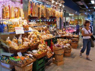 フィレンツェ中央市場 食材店Cristina Manetti