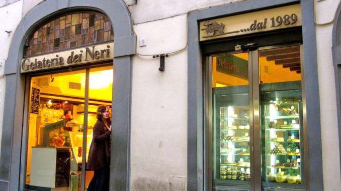 フィレンツェ ジェラート店デイ・ネーリ