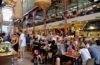 フィレンツェ中央市場のフードコートの地図と店舗紹介