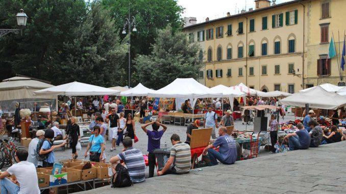フィレンツェ サント・スピリト市場