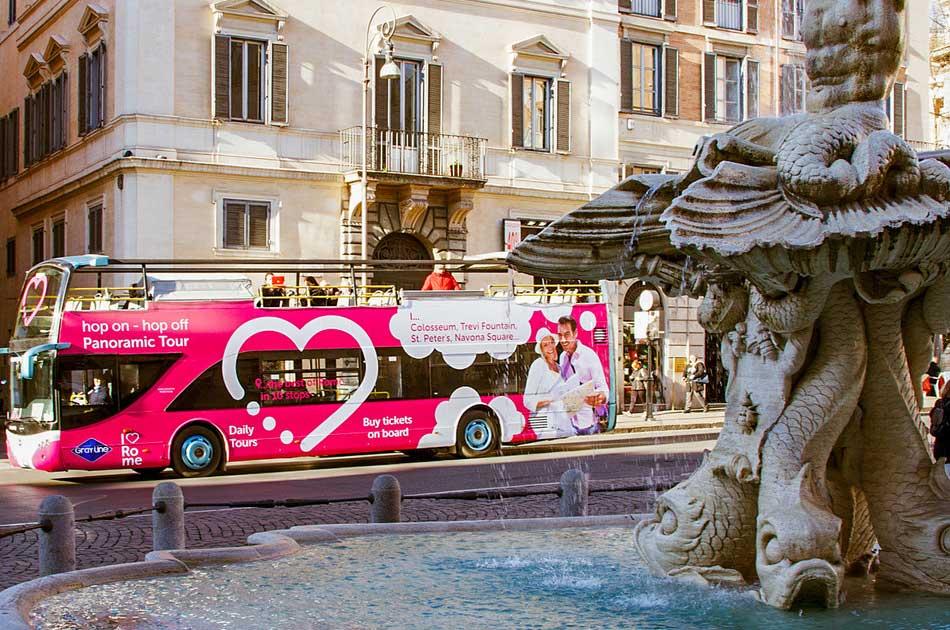 Gray Line ローマ市内観光バス