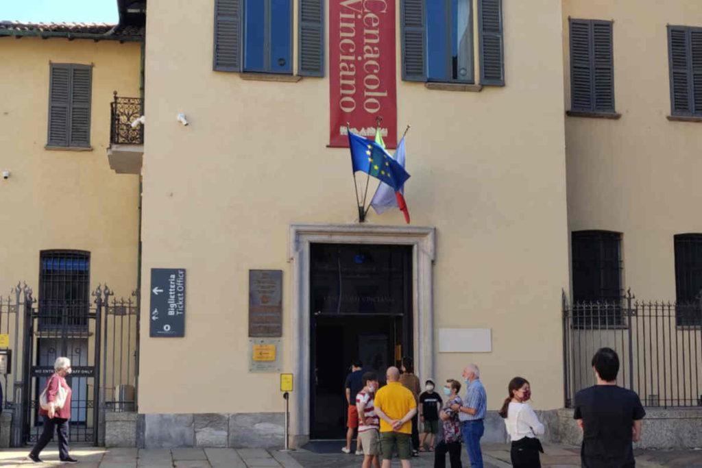Milano Cenacolo Last Supper Ticket Office