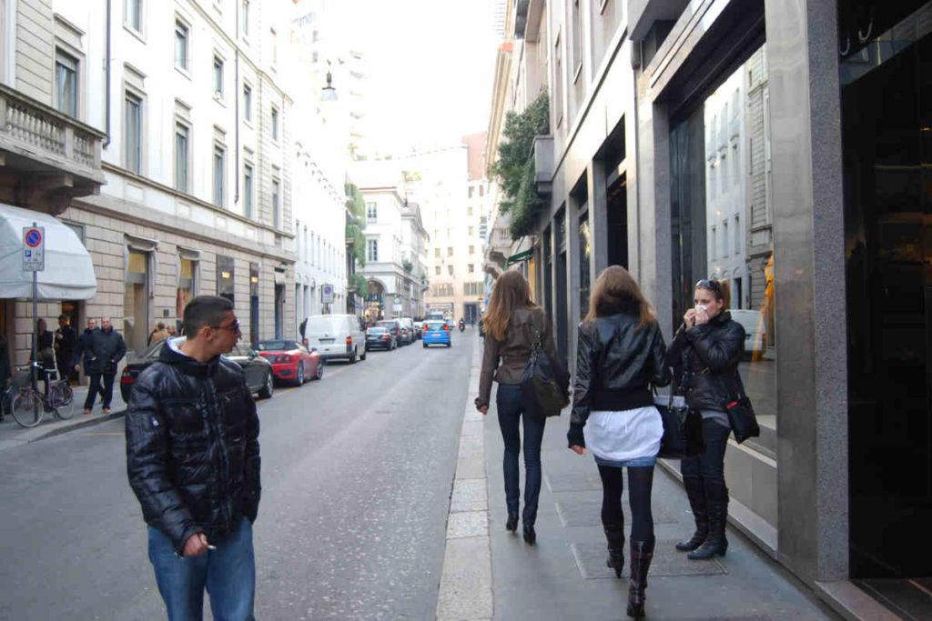 Milano Via Monte Napoleone