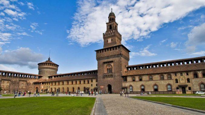 ミラノ スフォルツェスコ城