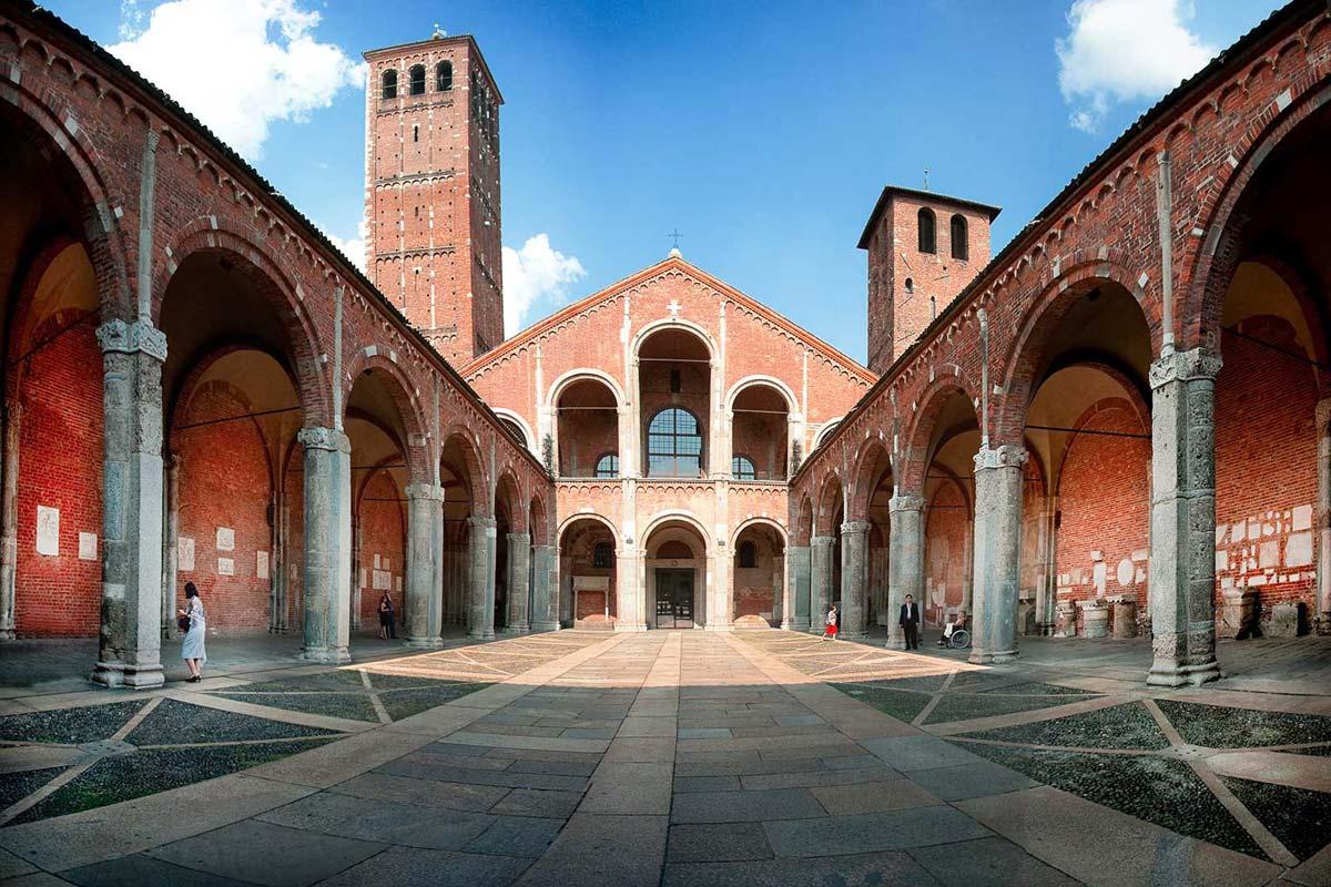ミラノ サンタンブロージョ聖堂