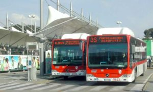 ナポリ空港からのシャトルバスALIBUS