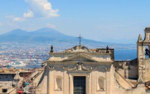 ナポリ ヴォメロの丘からの眺め