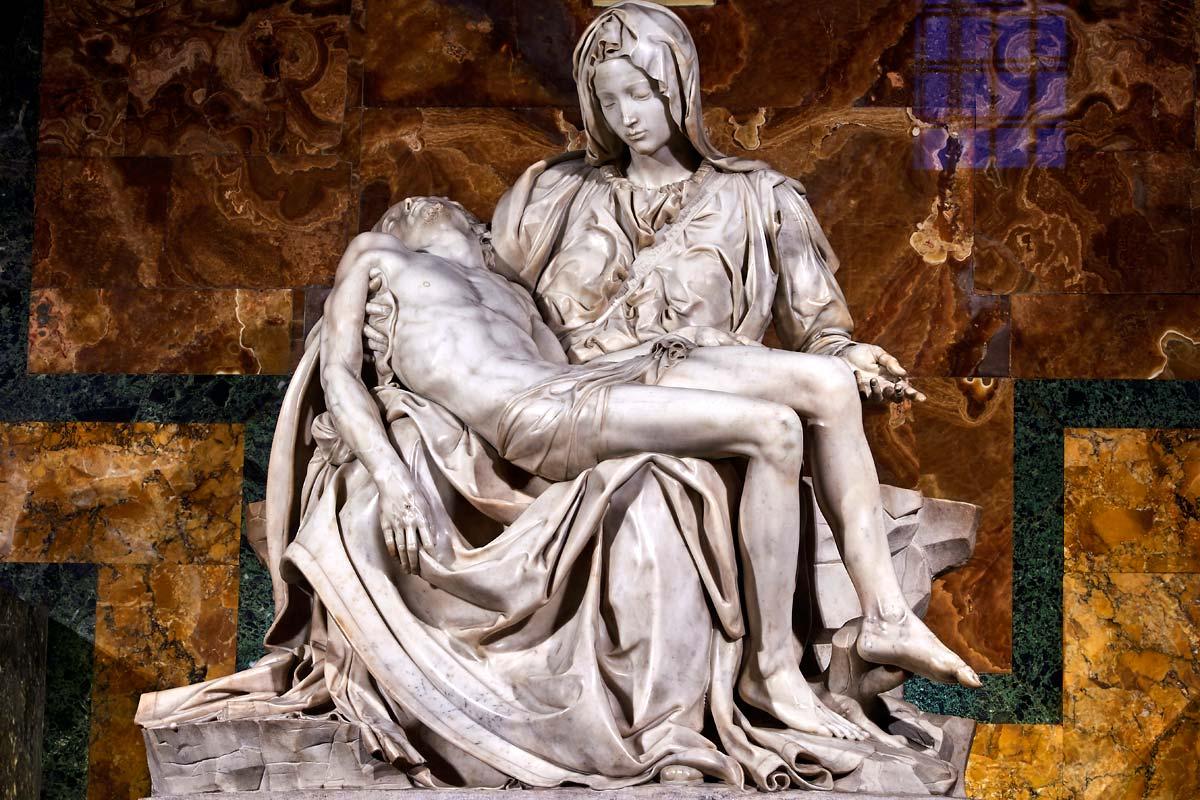 聖ピエトロ寺院 ミケランジェロのピエタ