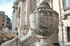 ローマ トレヴィの泉のAsso di Coppe