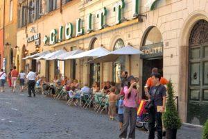 ローマのジェラート店Giolitti