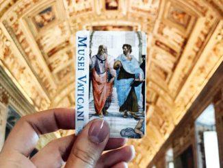 ローマ バチカン美術館 入館チケット