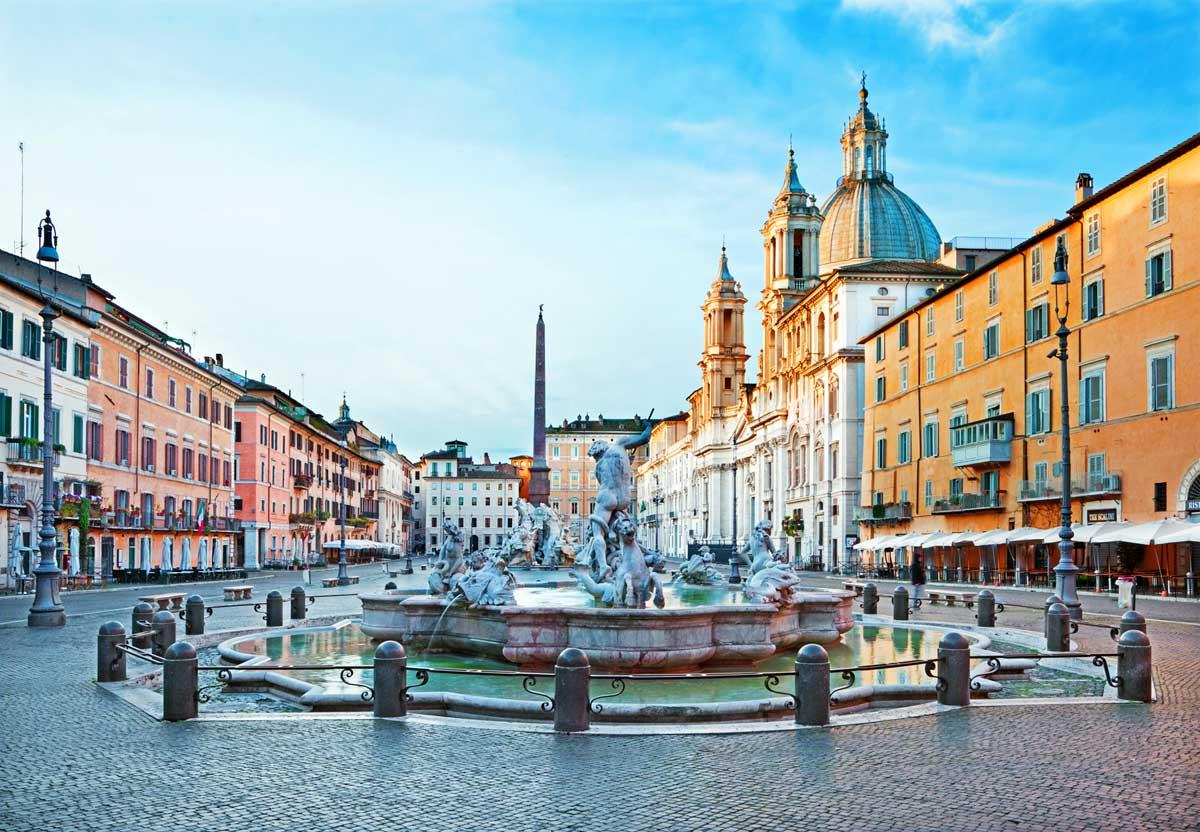 ローマ ナヴォーナ広場