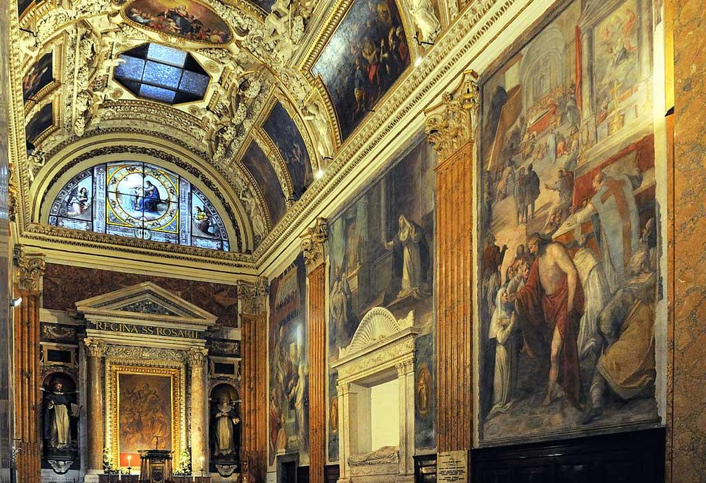 ローマ サンタ・マリア・ソプラ・ミネルヴァ教会 礼拝堂