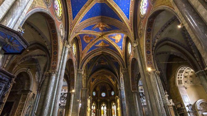 ローマ サンタ・マリア・ソプラ・ミネルヴァ教会