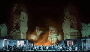 カラカラ浴場の野外オペラ