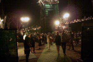 ローマ・カラカラ浴場のオペラ休憩時間