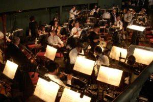 ローマ・カラカラ浴場のオペラ演奏