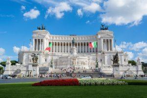 ローマ ヴィットリオ・エマヌエーレ二世記念堂