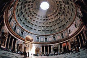 ローマ パンテオン神殿の目