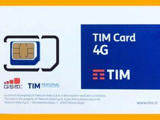 TIM SIM CARD 4G