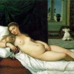 Venere d'Urbino テツィアーノ作「ウルビーノのヴィーナス」 1538年、第28室