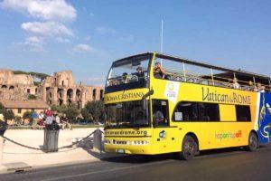 Vatican&Rome Open Bus