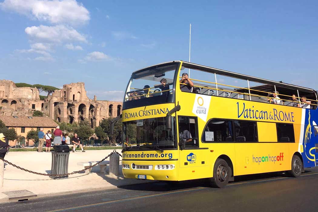 Vatican&Rome Open Bus
