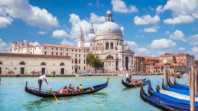 ベネチアの大運河