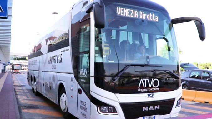ヴェネツィア ATVO空港送迎バス