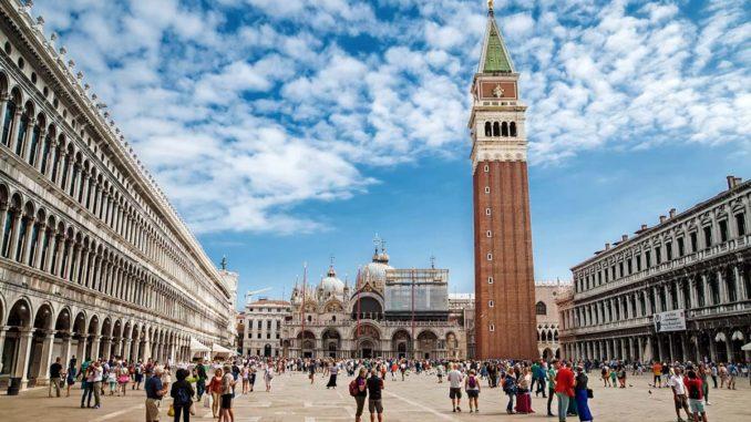 ベネチア サン・マルコ広場