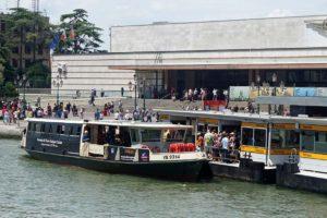 ヴェネツィアの水上バス・ヴァポレット