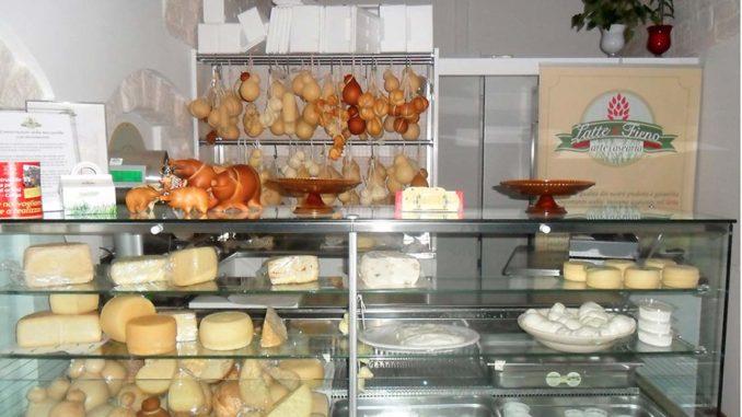 アルベロベッロのチーズ専門店 Latte e Fieno