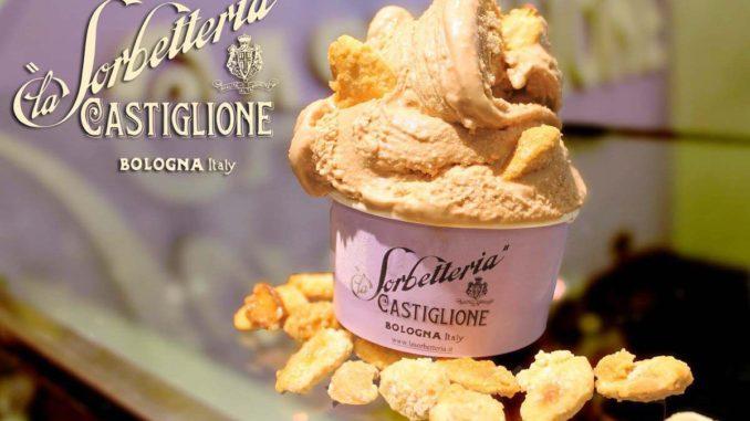 ボローニャのジェラート店『Castiglione』