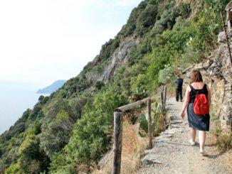チンクエテッレのハイキングコース