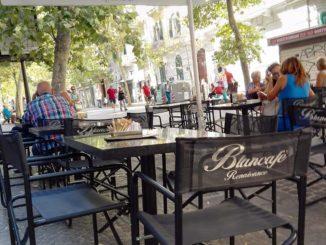 ナポリのカフェblancafe