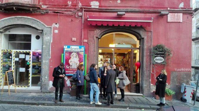 ナポリのカフェCaffè Tarsia