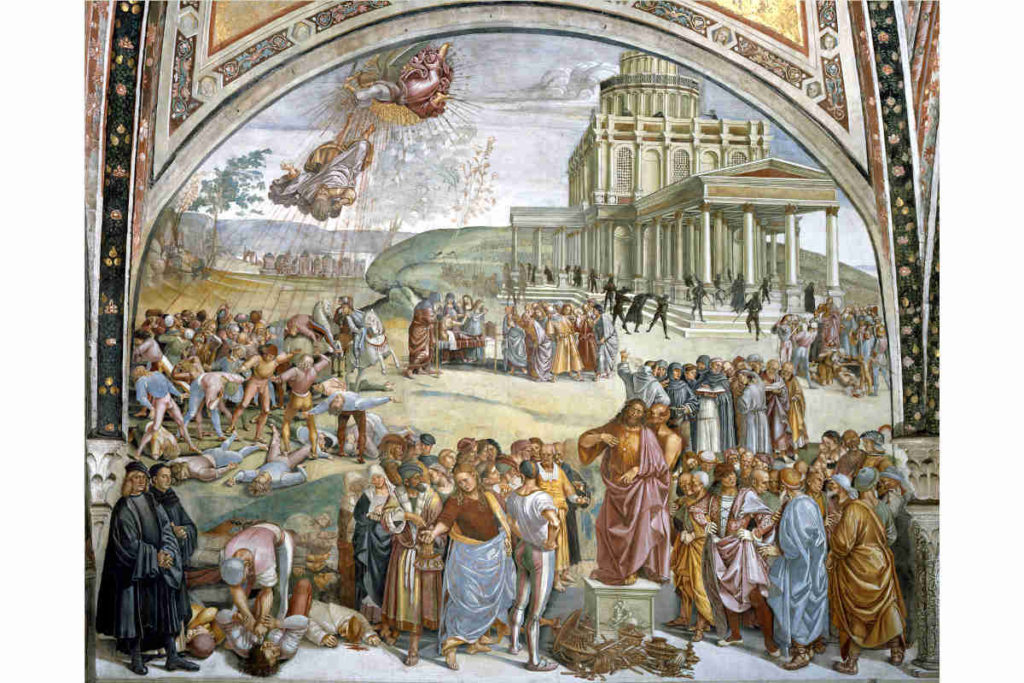 Orvieto Duomo Luca Signorelli