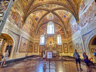 オルビエート大聖堂の聖ブリッツィオ礼拝堂