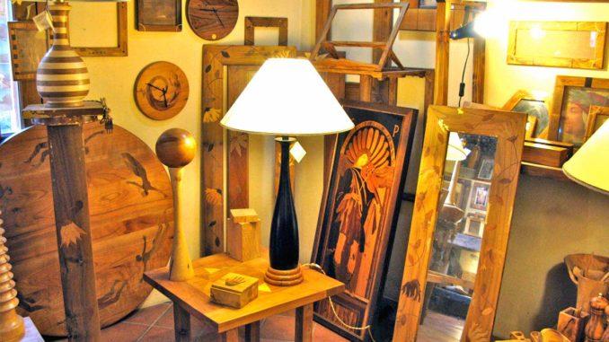 オルヴィエートのオリーブ木工工房パトリス