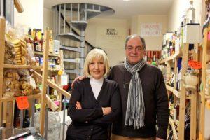 オルビエートの食材店 I Sapori dell'Umbria