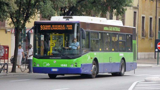 ベローナPorta Nuova駅から市バス