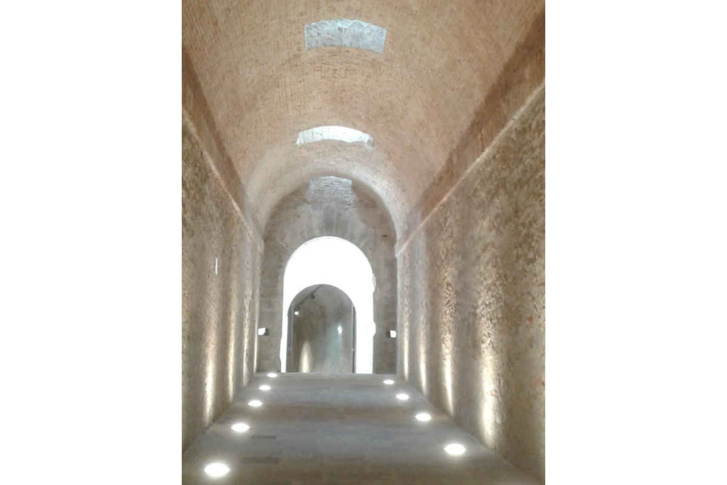 アレッツォ「メディチ家の要塞」