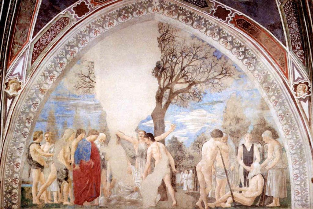 ピエロ・デッラ・フランチェスカの「聖十字架の伝説」