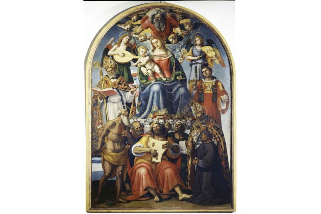 Arezzo Museo Nazionale d'Arte Medievale e Moderna
