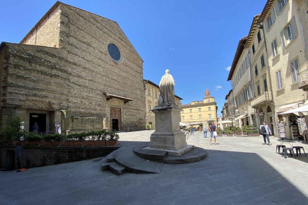 Arezzo Piazza San Francesco