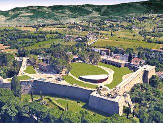 アレッツォのメディチ家の要塞